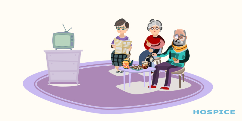 Оформление пожилых людей в частный пансионат